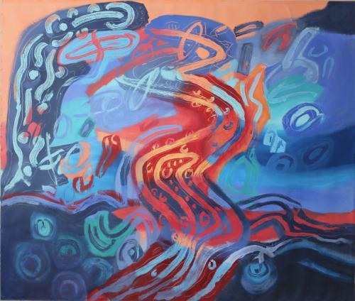 Awakening Too, co work by Jacqueline Unanue & Ricardo Guajardo Romero