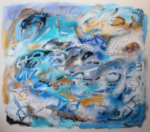 Mi Antigua Tierra, Sextet 3 by Jacqueline Unanue
