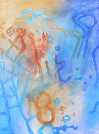 Ancient Codes I by Jacqueline Unanue