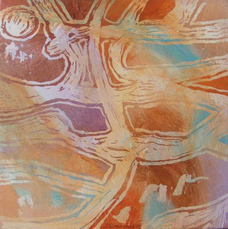 Labyrinth Zones #2 by Jacqueline Unanue