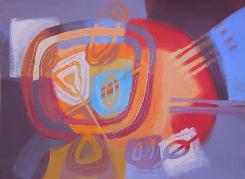 Meditation III by Jacqueline Unanue