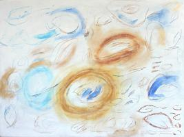 Writing and Movement II by Jacqueline Unanue